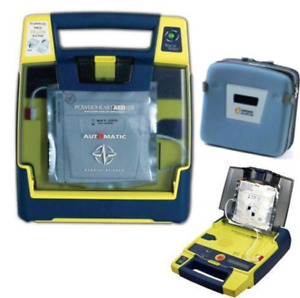 Cardiac Science Powerheart G3 Plus Aed Biomed Recertified New Pads And Battery