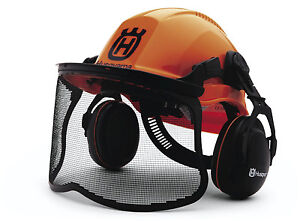 Husqvarna Proforest Logging Or Home Ansi Approved Chain Saw Helmet Safety System