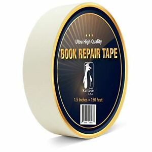 White Bookbinding Tape Extra Long White Cloth Book Repair Tape For Bookbinders