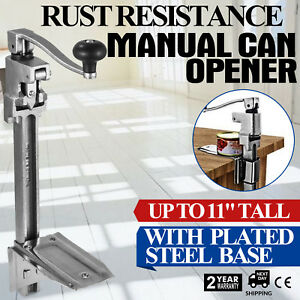Commercial Can Opener With Plated Steel Base 20 Openers