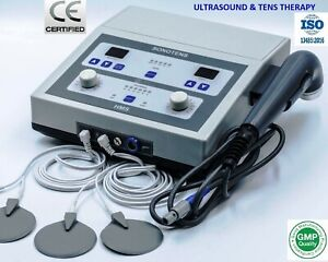 Latest Model Electrotherapy And Ultrasound Therapy Digital Pain Therapy Unit Hms