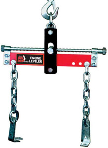 Torin Jacks Red Engine Load Leveler 1500 Lbs Steel Construction 4in Chains