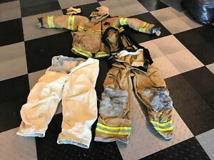 Firefighter Jacket pants And More Turnout Gear Set check Out Pics