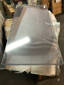 Polycarbonate pc Sheet Transparent Clear 1 1 2 Thick 24 Width 48 Lenth