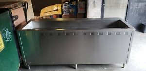 Electric Steam Table Model Number Est 84 Drop In Hot Pans 1463 Never Used