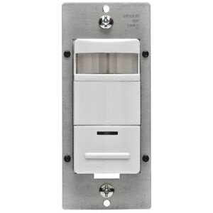 Wall Switch Motion Occupancy Sensor Auto On Off Incandescent Fluorescent Light
