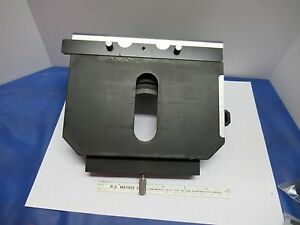 Nikon Japan Stage Table Micrometer Microscope Part As Is 85 06