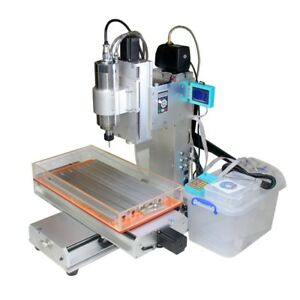 2200w Spindle 3 Axis 3040 Cnc Engraving Drilling Milling Machine Router Table