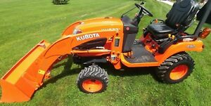 2015 Kubota Bx2670 4x4 Diesel Subcompact Tractor Only 201 Hours