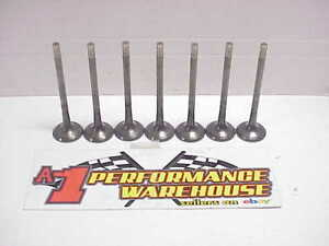 7 Titanium Exhaust Valves 11 32 1 625 5 665 Square Groove 80 Gr Del West