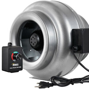 Ipower 12 Inch 1060cfm Inline Duct Ventilation Fan W Variable Speed Controller