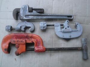 Ridgid Tools pipe Wrenches pipe Cutters