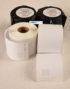 30323 Internet Shipping 220 Labels Thermal Return Blank White Dymo Compatible