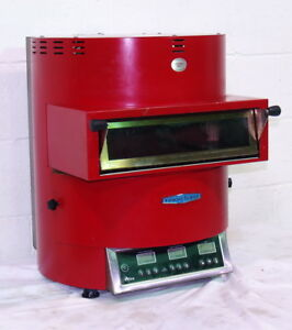 Used Turbochef Fire Ventless Countertop Pizza Oven Red