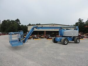 2007 Genie Z80 60 Boom Lift Jlg 80 Reach Articulating Jib Low Hours