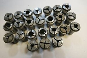 Hardinge 21sc Collet Set Of 24pcs