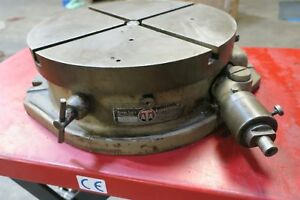 Troyke Model Bh 15 15 Horizontal Rotary Table Bridgeport