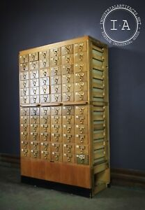 Midcentury Vintage Card Catalogue By Gaylord