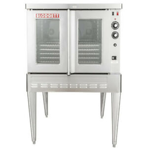 New 50 000 Btu Single Deck Full Size Natural Gas Convection Oven With Legs