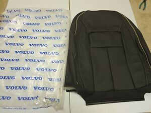 New Volvo Oem 2012 2013 2014 2015 S80 Leather Factory Seat Cover Inscription