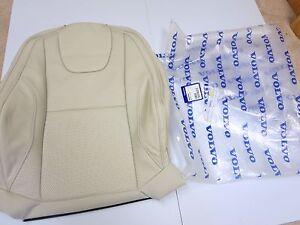 New Volvo Oem 2013 2014 2015 Xc60 Marble White Leather Factory Seat Cover