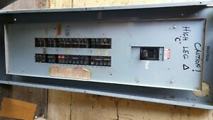 Gould Ite Circuit Panel 3 Phase 4 Wire 400amp 42circuits jd3 b400 load Cente