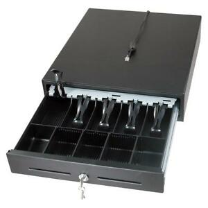 Heavy Duty Manual Cash Drawer 5 Bills 8 Coins Removable Cash Tray till