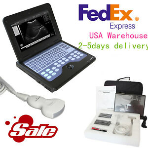 Fda Contec Digital Ultrasound Scanner Portable Laptop Machine 3 5m Convex Probe