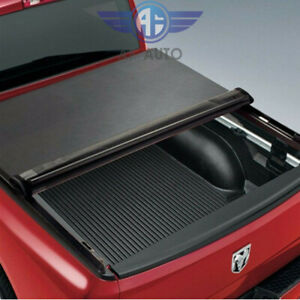 For 94 01 Dodge Ram 1500 2500 3500 6 5 Ft Bed Lock Roll Up Soft Tonneau Cover