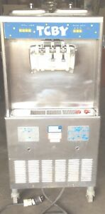 Taylor 3 Phase Soft Serve Ice Cream Machine Two Flavors 754 33