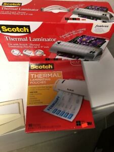 3m Scotch Tl 901 Thermal Laminator