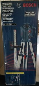 Save New Bosch Self leveling Rotary Laser Kit Grl 245 Hvck