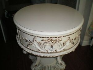 Antique French Drum Table 60 Off
