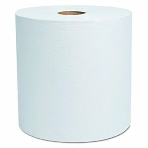 Cascades 1782 North River Hardwound Roll Towels 7 7 8 X 800 White pk Of 6