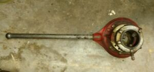 Ridgid 65ra Adjustable 1 2 Receding Ratcheting Pipe Threader With Handle F s