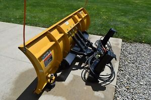 Curtis Hitch And Go Snow Plow For John Deere Quik Hitch