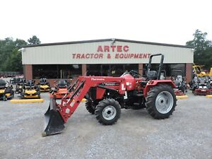 2015 Mahindra 4025 4wd Tractor With Loader Deere Kubota Low Hours