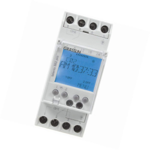 Intermatic Talento 882 Digital Din Rail Mount 365 day Time Switch With Int