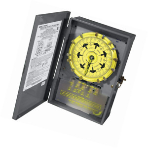 Intermatic T7401br 4pst 125 volt 7 day Mechanical Time Switch With Nema 3 Steel