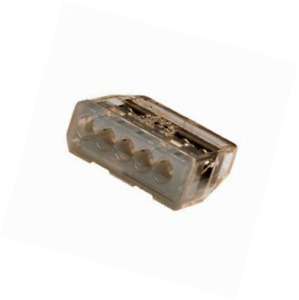Ideal 30 687 In Sure Push in Wire Connectors Gray box Of 3000