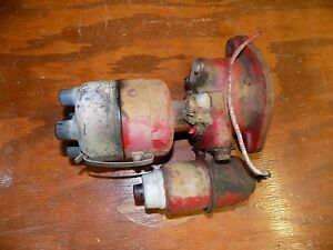 Farmall Ih 4 Cylinder Tractor Distributor With Base A B C H M 300 400