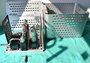 Stryker System 5 Sagittal Saw 4208 With Hanpieces 4102 452 Sterilization Case