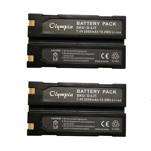 Gps Batteries 2 Pack 54344 Replacement Rechargeable Li Ion Top Quality Genuine