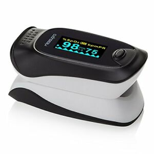 Instant Digital Pulse Oximeter Oxygensensor Pulse Rate Monitor With Carry Case