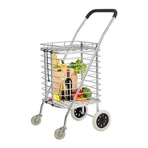 Superlight Grocery Multipurpose Utility Folding Shopping Cart Trolley Truck