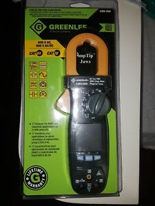 Greenlee Cmh 600 Hvac Ac True Rms Clamp Meter Amp Tip Jaws New