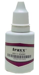Refill Ink For Self inking Stamps Traxx Ideal Trodat Violet 1 Oz