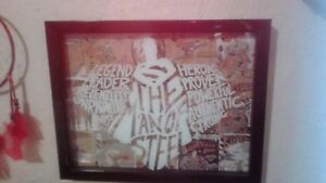 Superman Glass Wall Plaque