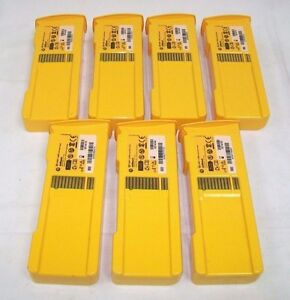 Lot Of 7 Defibtech Dbp 1400 Battery Pack 2014