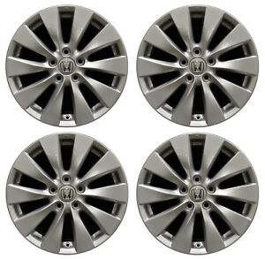 17 Honda Accord 2013 2014 2015 Factory Oem Rim Wheel 64047 Full Set